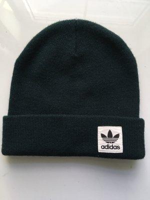 Adidas Sombrero de tela verde bosque-verde oscuro