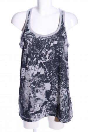 Adidas Débardeur marcel gris clair-noir imprimé avec thème