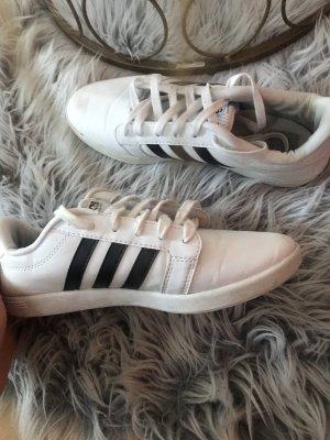 Adidas NEO Sznurowane trampki czarny-biały