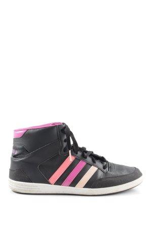 Adidas NEO High Top Sneaker multicolored casual look
