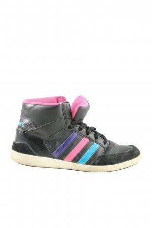 Adidas NEO High Top Sneaker Streifenmuster Casual-Look