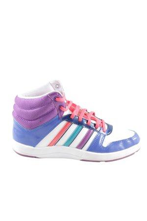 Adidas NEO High Top Sneaker Streifenmuster sportlicher Stil