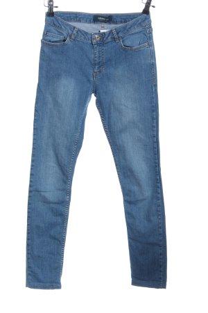 Adidas NEO Jeansy z wysokim stanem niebieski W stylu casual