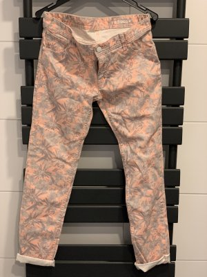 Adidas NEO Pantalon taille basse abricot-gris