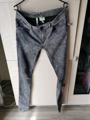 Adidas NEO Spodnie ze stretchu szary