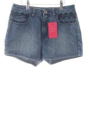 Adidas NEO Denim Shorts blue casual look