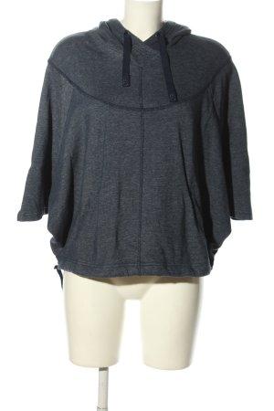Adidas NEO Sweter z kapturem niebieski Melanżowy W stylu casual