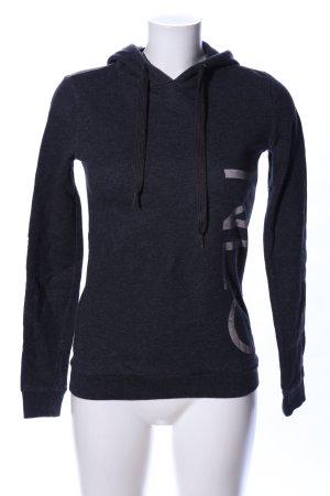 Adidas NEO Sudadera con capucha negro moteado look casual