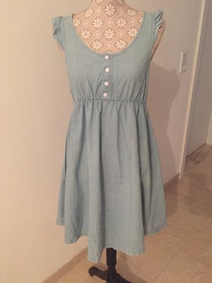 Adidas NEO Denim Dress light blue