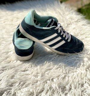 Adidas NEO Sneakers met veters blauw Leer