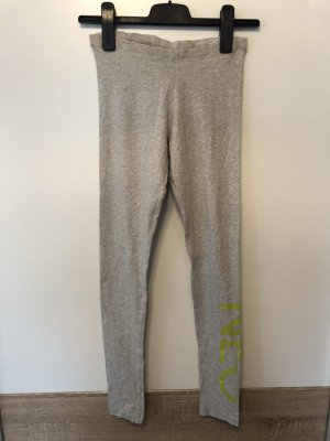 Adidas NEO Legging gris clair-vert prairie