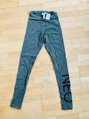 Adidas NEO Leggings XXS Grün Baumwolle