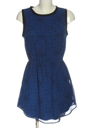 Adidas NEO Minikleid blau Allover-Druck Casual-Look
