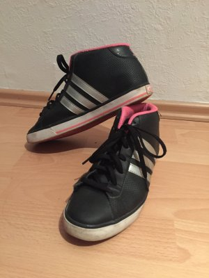 adidas neo neon pink shoes