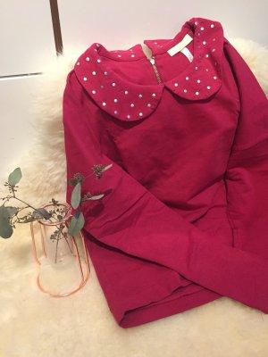 Adidas NEO Sweat Shirt raspberry-red-neon red