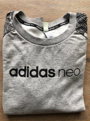 Adidas NEO Sweatshirt gris clair-noir