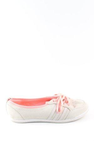 Adidas NEO Chaussures à lacets blanc cassé-rose style décontracté