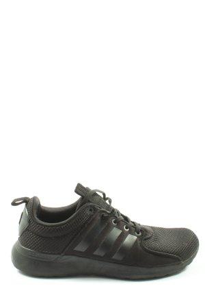 Adidas NEO Basket à lacet noir style décontracté