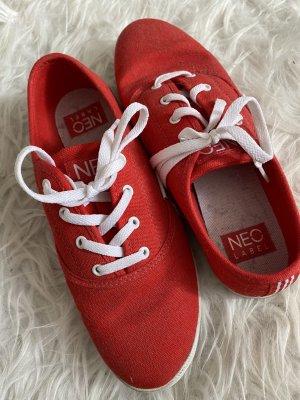 Adidas Neo Schuhe Rot