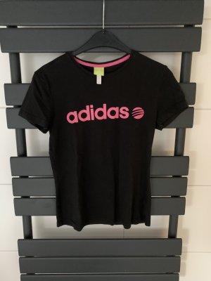 Adidas NEO Shirt basique noir-rose