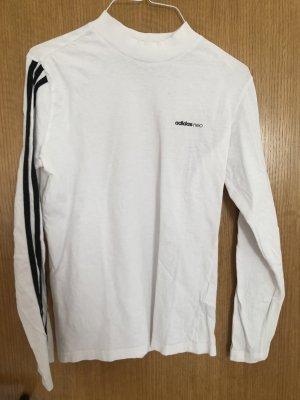 Adidas NEO Chemise à manches longues blanc-noir