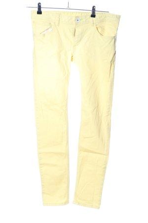 Adidas NEO Skinny Jeans blassgelb Casual-Look