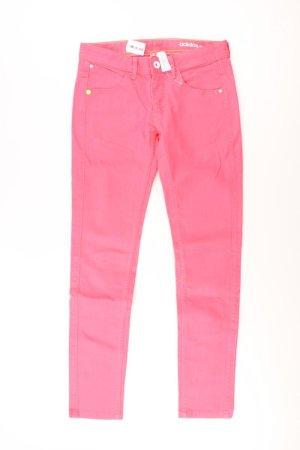 Adidas NEO Skinny jeans lichtroze-roze-roze-neonroos Katoen