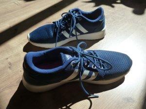Adidas NEO Sneaker stringata blu Tessuto misto