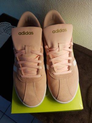 Adidas Neo Sneaker Damen Rosa Nude Größe 40 2/3 wie neu