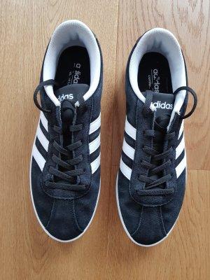 adidas neo Sneaker schwarz/weiß Größe 40 / UK 6,5