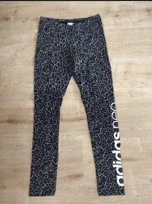 Adidas NEO Spodnie sportowe biały-czarny