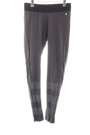 Adidas NEO Sporthose dunkelgrau-grau Streifenmuster sportlicher Stil