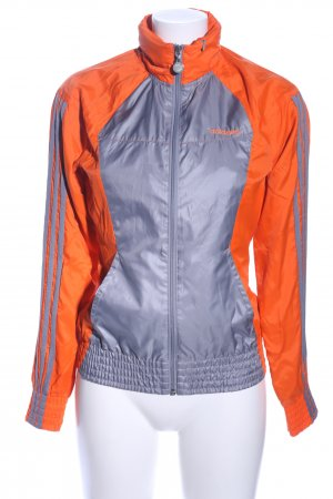Adidas NEO Sports Jacket light orange-silver-colored casual look