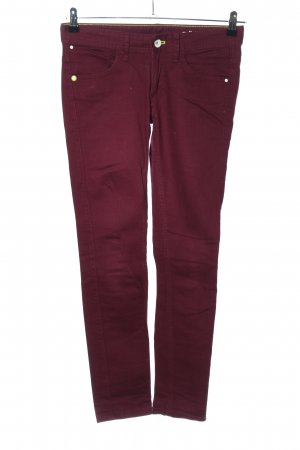 Adidas NEO Straight-Leg Jeans rot Casual-Look