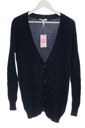 Adidas NEO Cardigan tricotés bleu torsades style décontracté