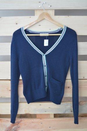Adidas NEO Cardigan dark blue-white