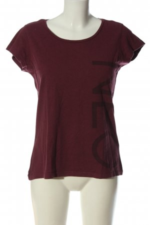 Adidas NEO T-Shirt red-blue flecked casual look