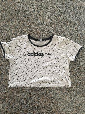 Adidas NEO Camiseta blanco-negro