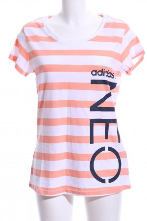 Adidas NEO T-Shirt printed lettering casual look