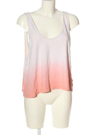 Adidas NEO Débardeur blanc-orange clair gradient de couleur style décontracté