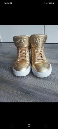 Adidas NEO High Top Sneaker white-gold-colored