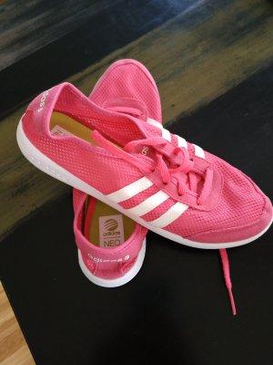 Adidas NEO Sznurowane trampki różowy