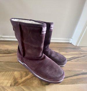 Adidas NEO Bottes de neige violet foncé