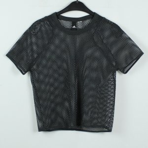 Adidas Top maillé gris anthracite
