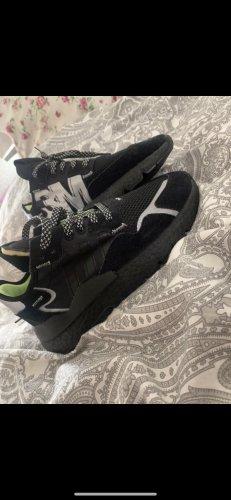 Adidas Basket montante vert fluo-noir