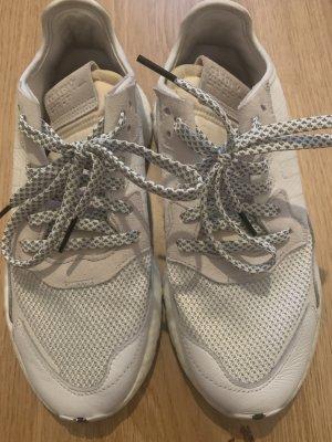 Adidas Nite Runner Sneaker weiß 40