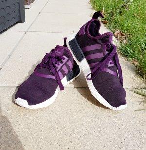 Adidas Basket à lacet violet