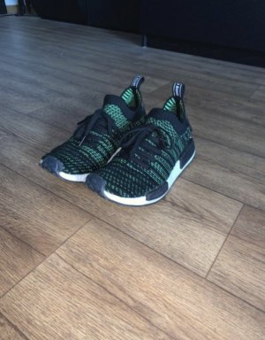 Adidas NMD Lace-Up Sneaker black-neon green