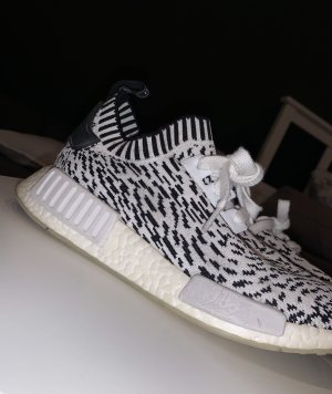 Adidas Sneaker slip-on nero-bianco