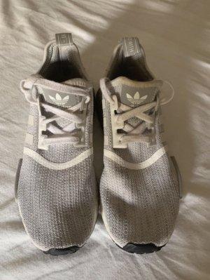 Adidas NMD_R1, grau/weiß, sneaker, 40 2/3